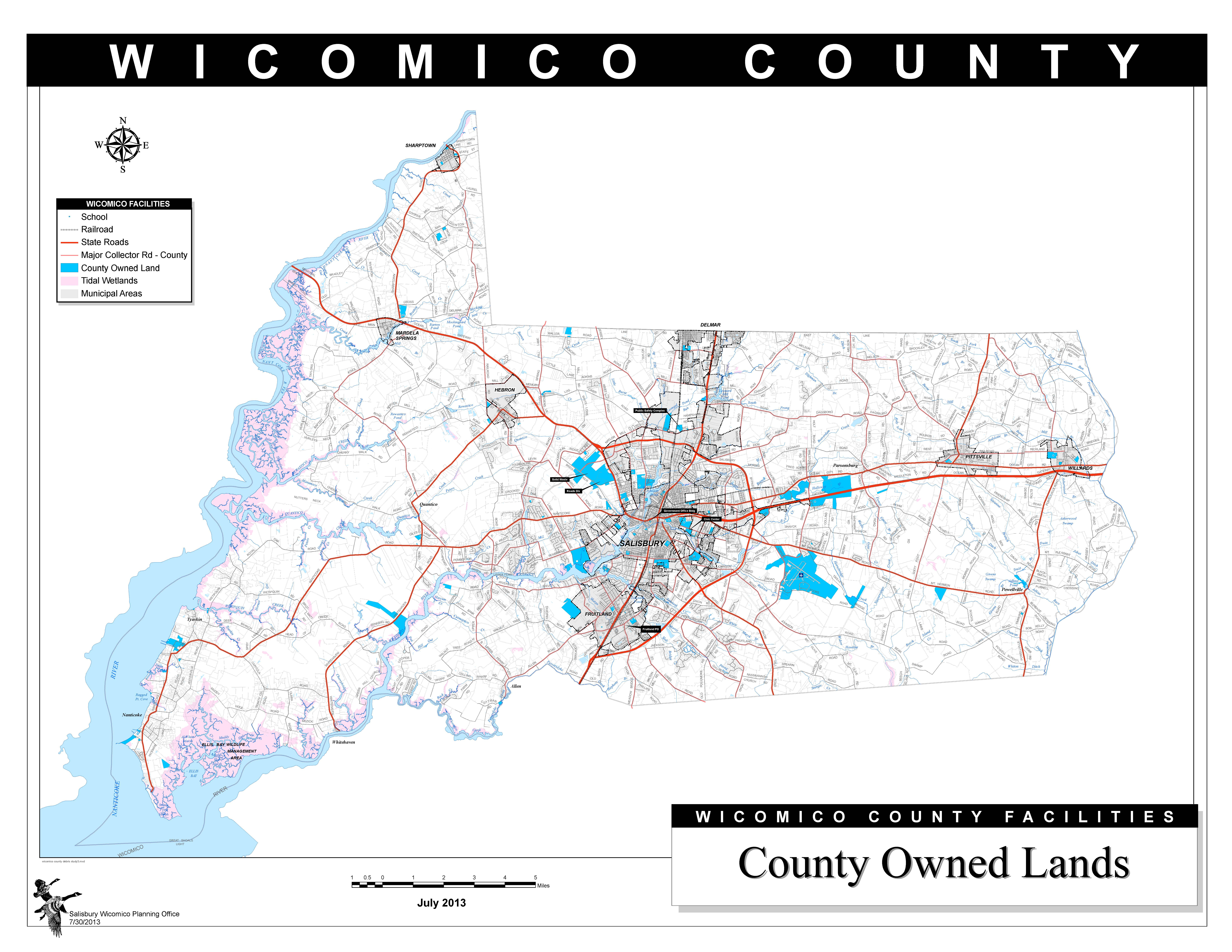 Wicomico County Facilities