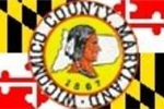councty seal md flag